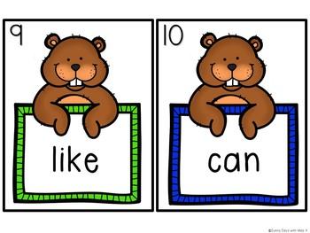 Kindergarten Groundhog Day Literacy Centers - 7 Groundhog Day Reading Centers