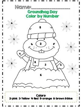 Kindergarten Groundhog Day Math Adventures *Common Core Aligned*