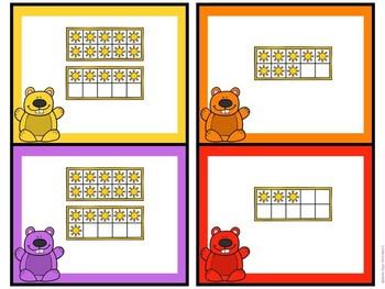 Kindergarten Groundhog Day Math Center - Groundhog Ten Frame Center