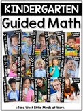 Kindergarten Guided Math Curriculum | HOMESCHOOL COMPATIBLE |