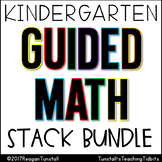 Kindergarten Guided Math Stack Bundle
