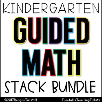 Kindergarten Guided Math Stack Bundle