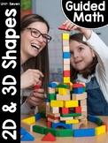 Kindergarten Guided Math: Unit Seven Shapes