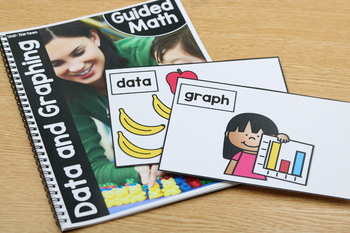 Kindergarten Guided Math: Unit Thirteen Graphing and Data