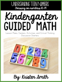 Kindergarten Guided Math Units By Topic: Teen Numbers