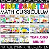 Kindergarten Guided Math Year-long Bundle