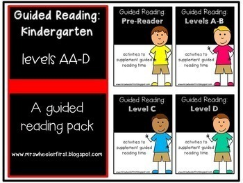 Kindergarten Guided Reading Bundle