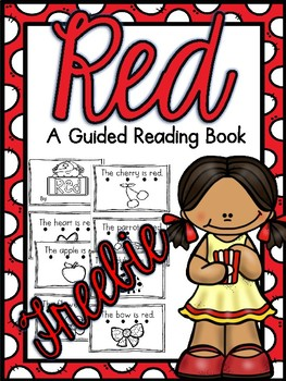 Red Book For Guided Reading Groups FREEBIE