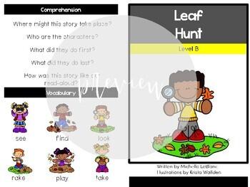 Kindergarten Guided Reading November Level B