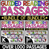 Kindergarten Guided Reading and 1st Grade Guided Reading Bundle of Bundles