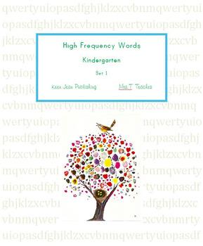 Kindergarten HFW set 1