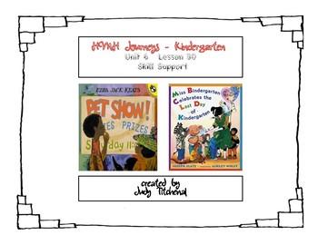 Kindergarten HMH- Unit 6 Lesson 30