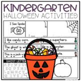 Kindergarten Halloween Activities