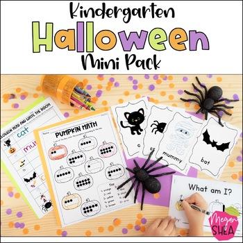 Kindergarten Halloween Activity Pack