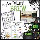 Kindergarten Halloween Center- Witches' Brew Activities