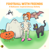Kindergarten Halloween Comprehension Lesson (Passage & Ans