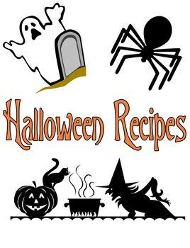 Kindergarten Halloween Cooking Recipes