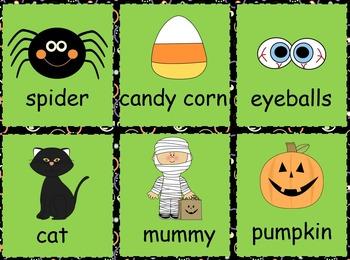 Kindergarten Halloween Literacy Activities