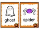 Kindergarten Halloween Literacy Center - Halloween Write the Room