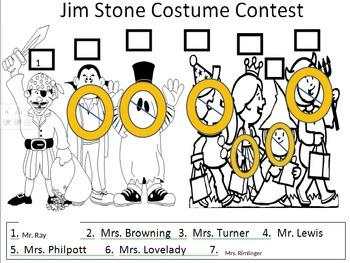 Kindergarten Halloween Logic