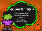Kindergarten Halloween Math Activities