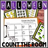 Kindergarten Halloween Math Center - Count the Room