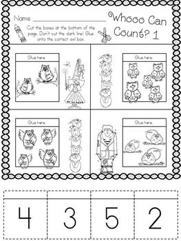 Kindergarten Halloween Math Freebie