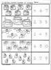 Kindergarten Halloween Math Worksheets (Part2)