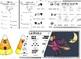 Kindergarten Halloween Math and Literacy Pack