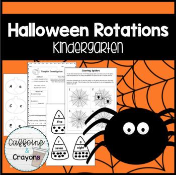 Kindergarten Halloween Rotations