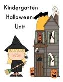 Kindergarten Halloween Unit