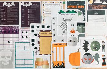Kindergarten Halloween Unit Study | Reading, Writing, Math, LA, Social, Science