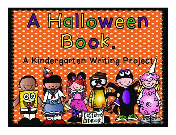 Kindergarten Halloween Writing Project