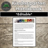 Kindergarten Handbook Template - Ontario Kindergarten FDK Information