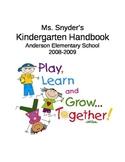 Kindergarten Handbook