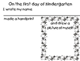 Kindergarten Handprint Activity