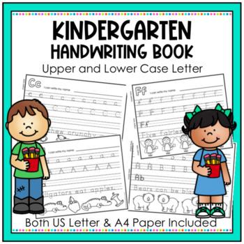 Kindergarten Handwriting Book 2. Upper and Lower Case Letters