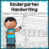 Kindergarten Handwriting Book 2. Upper and Lower Case Letters