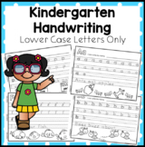 Kindergarten Handwriting Book - Lower Case Letters