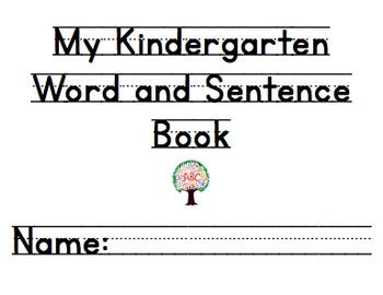 Kindergarten Handwriting Book Volume 2