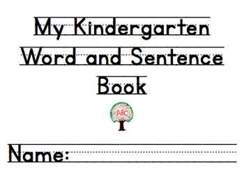 Kindergarten Handwriting Book Volume 2
