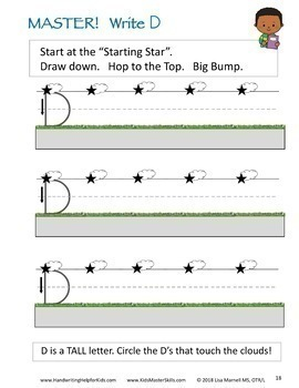 Kindergarten Handwriting Workbook Bundle - LEARN LETTERS Upper and Lower Case