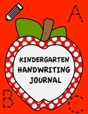 Kindergarten Handwriting Journal With Beginning Sentence Practice