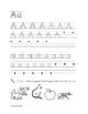 Kindergarten Handwriting Practice Book
