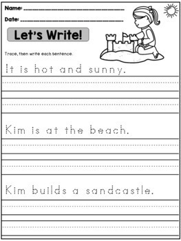 bundle seasonal handwriting practice sentences by dana 39 s wonderland. Black Bedroom Furniture Sets. Home Design Ideas
