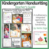 Kindergarten Handwriting Teacher's Guide
