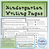Kindergarten Handwriting for Young Writers (Fine Motor Imp