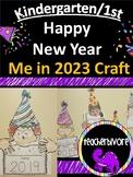 Happy New Year Craft: Me in 2019 {Kindergarten/1st Grade}