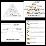 Kindergarten Health / Body / Nutrition Worksheets