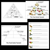 Kindergarten Health / Body / Nutrition Worksheets